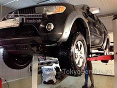компетентного ремонта Мицубиси Л200